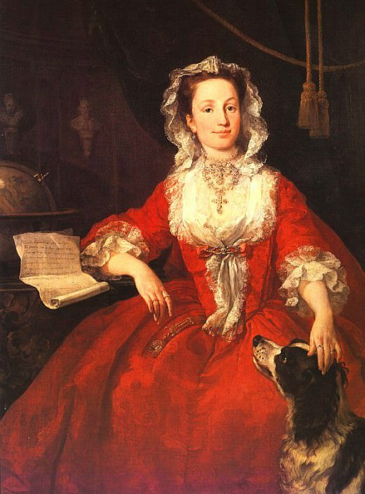 Miss Mary Edwards. William Hogarth