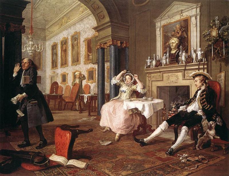 marriage. William Hogarth