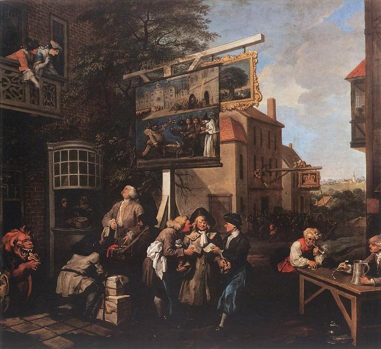 election. William Hogarth