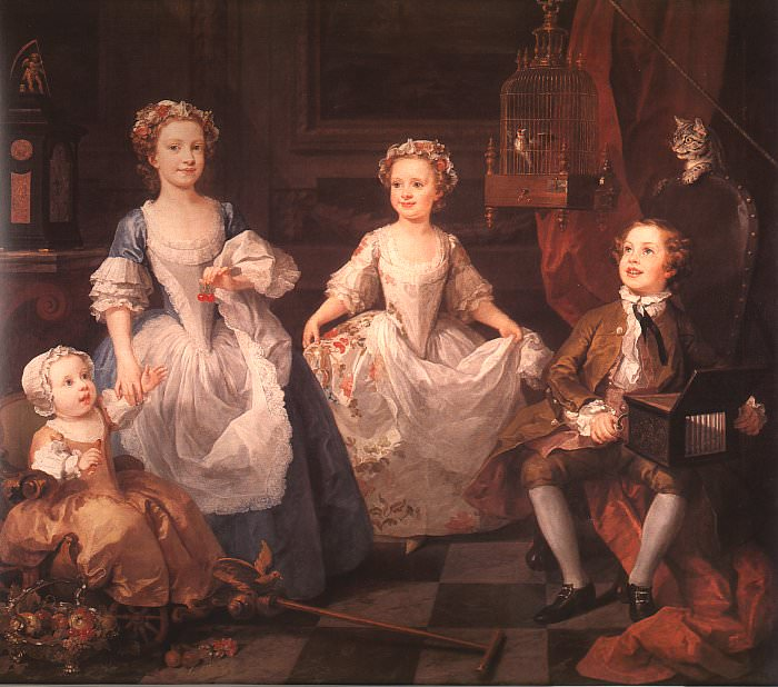 The Graham Children CGF. William Hogarth