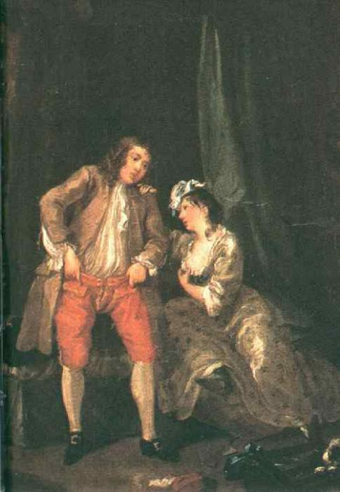 seductio. William Hogarth