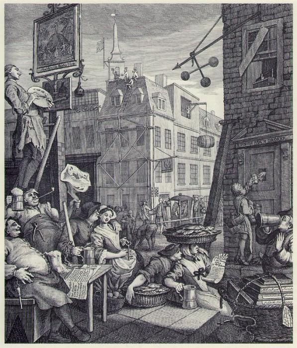 Beer street 1750. William Hogarth