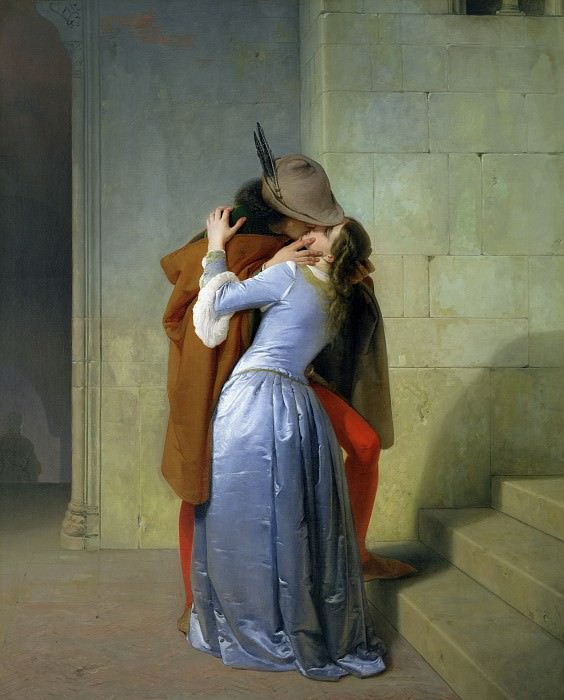 The Kiss. Francesco Hayez
