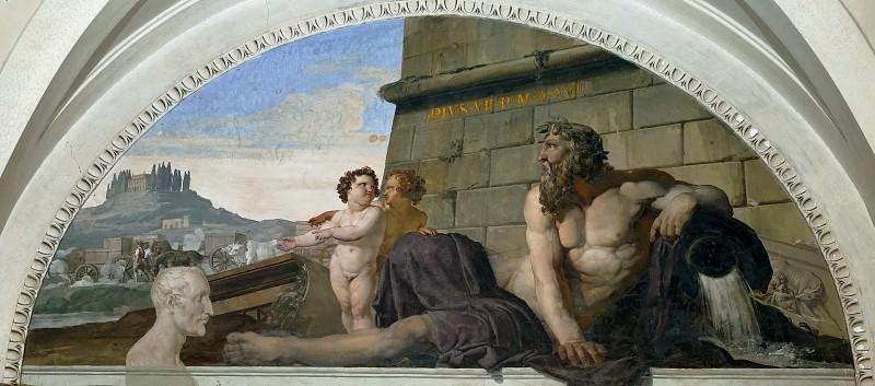 Возвращение в Рим произведений искусства, похищенных Наполеоном. Франческо Айец