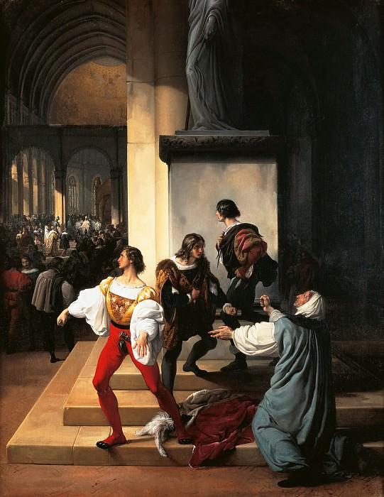 The Lampugnani Conspiracy. Francesco Hayez