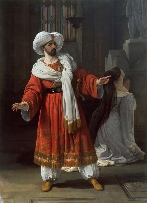 The Arabs in Gaul. Francesco Hayez