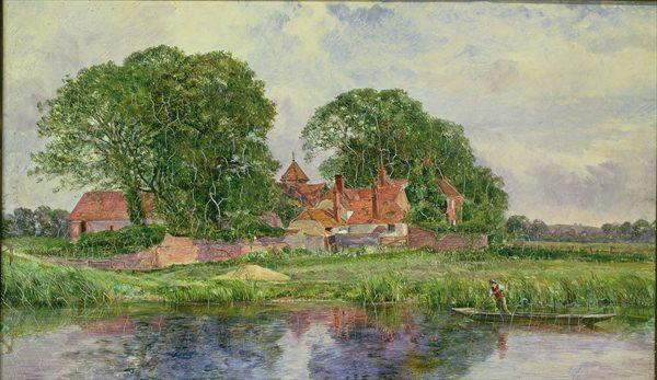 The Old Manor House. Heywood Hardy