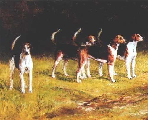 Belvoir Hounds. Heywood Hardy