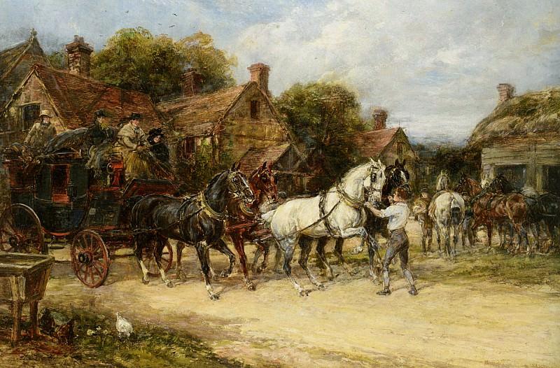 Changing Horses. Heywood Hardy