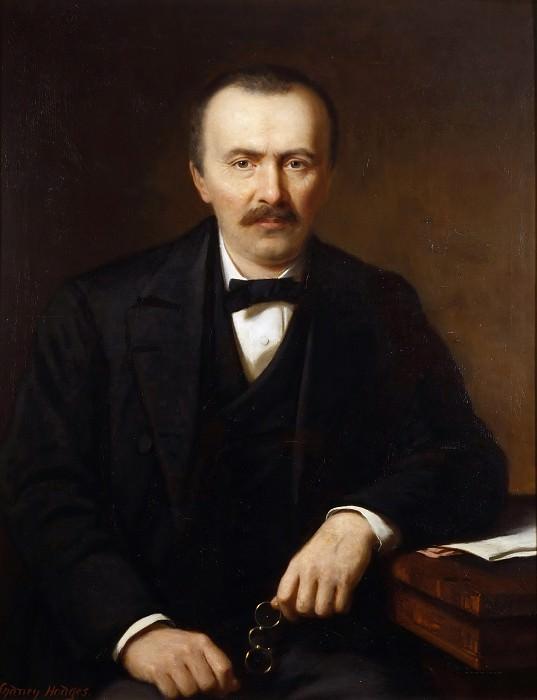 Портрет археолога Генриха Шлимана. Сидней Ходжес