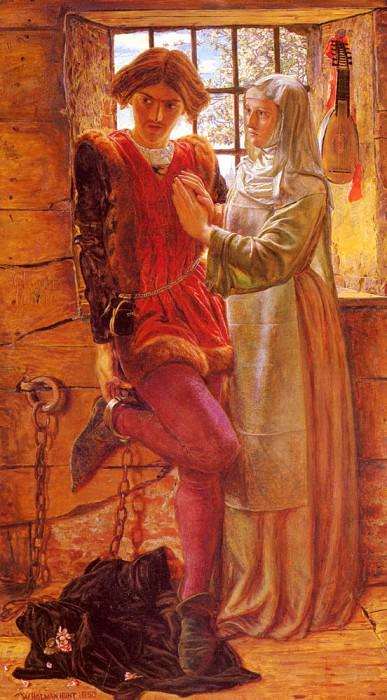 Клаудио и Изабелла. Уильям Холман Хант