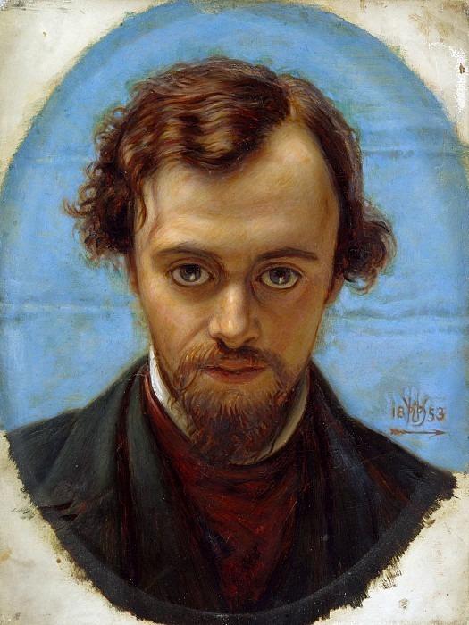 Dante Gabriel Rossetti. William Holman Hunt