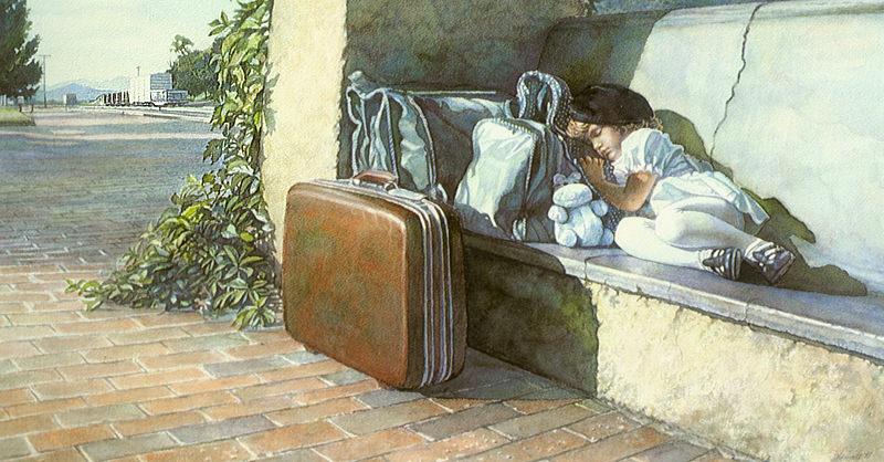 The Weary Traveler. Steve Hanks