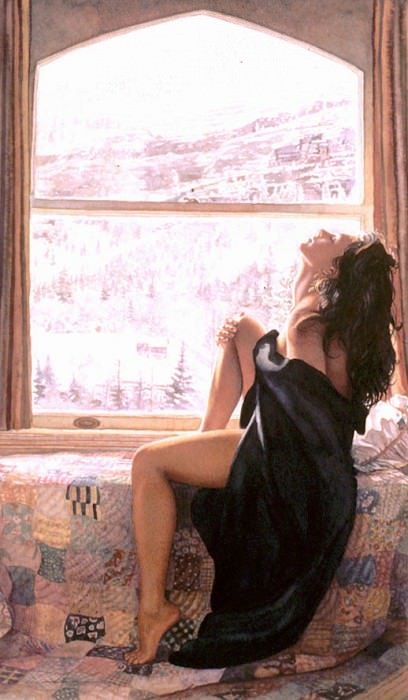 On The Warm Side Of Winter. Steve Hanks