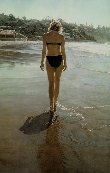 Along the Shore. Steve Hanks