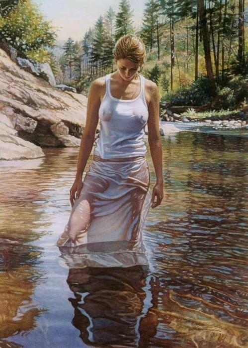 Cool Water. Steve Hanks