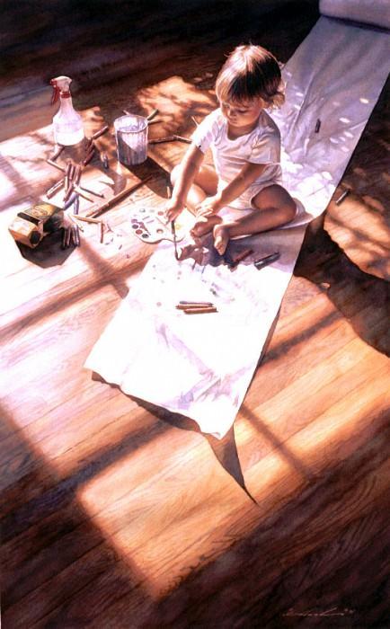 Young At Art. Steve Hanks