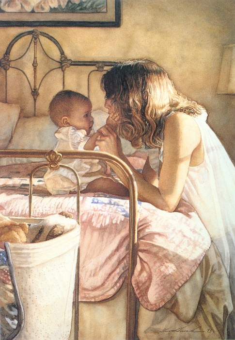 Mother and Child Bond. Steve Hanks