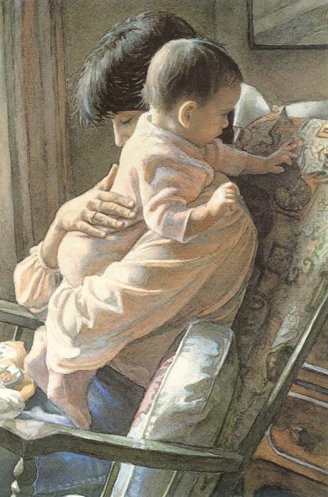 Mother and Child. Steve Hanks