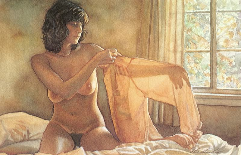 Sheer Blouse. Steve Hanks