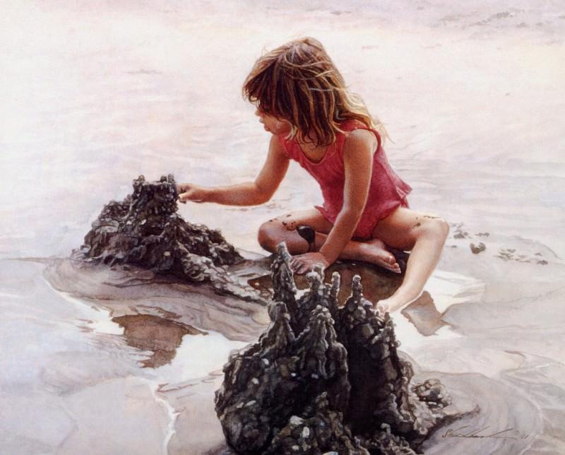 Castles in the Sand. Steve Hanks