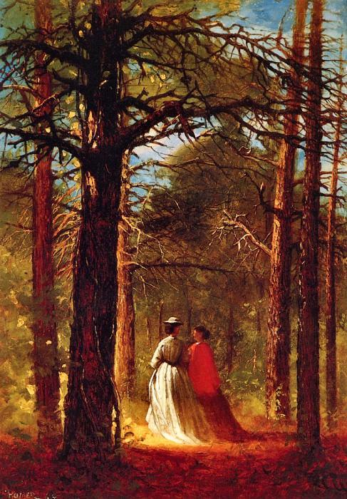 Waverly Oaks. Winslow Homer