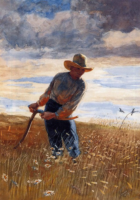 The Reaper. Winslow Homer