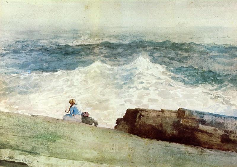 The Northeaster. Winslow Homer