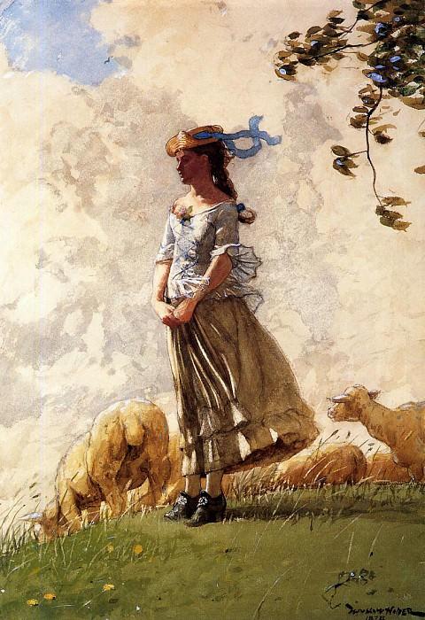 Fresh Air. Winslow Homer