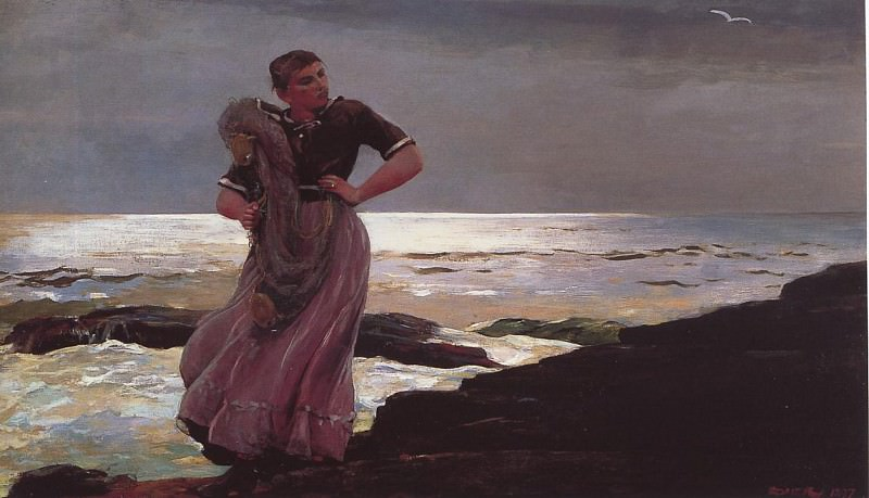 Light on the Sea. Winslow Homer