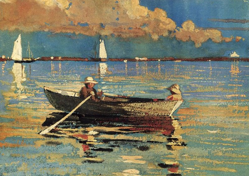 Gloucester Harbor. Winslow Homer