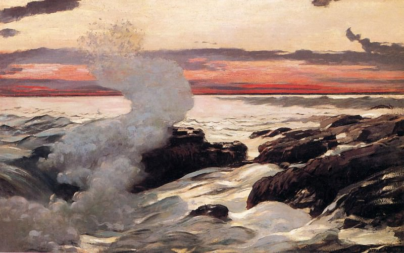 West Point Prout-s Neck. Winslow Homer