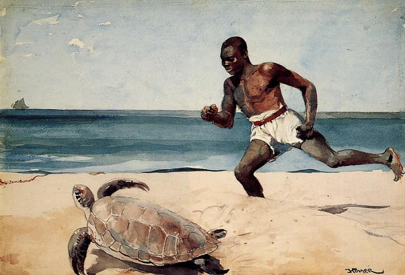 Rum Cay. Winslow Homer