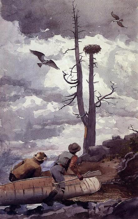 Osprey-s Nest. Winslow Homer