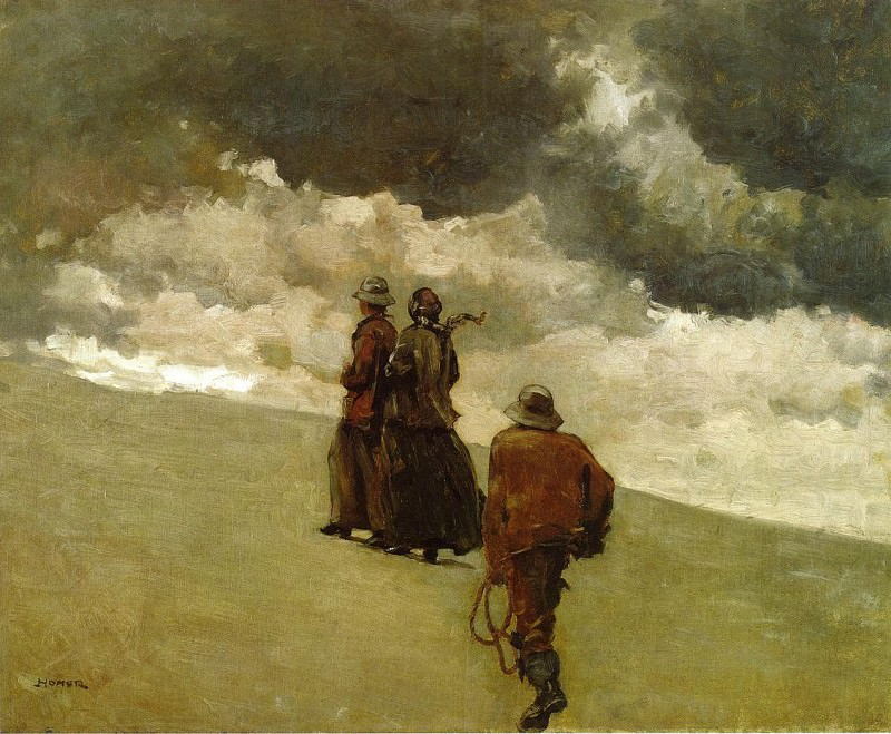 To the Rescue. Winslow Homer