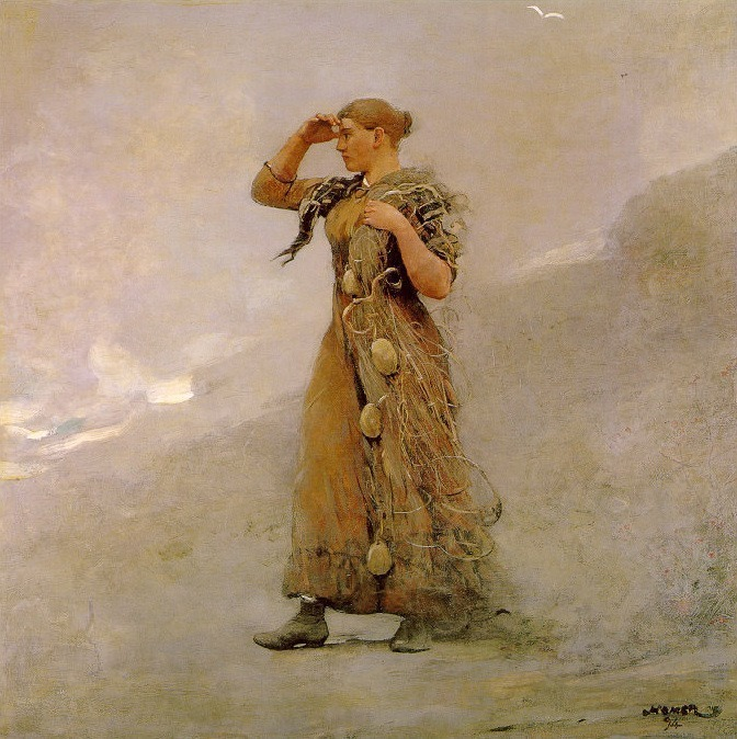 The-Fisher-Girl. Winslow Homer