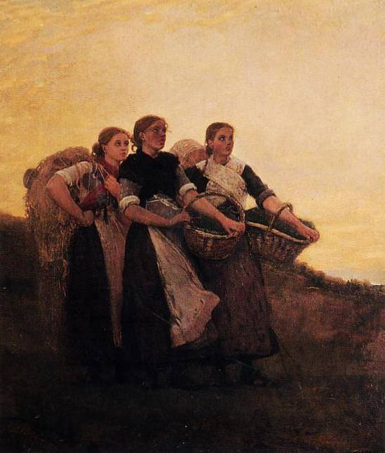 Hark! The Lark!. Winslow Homer