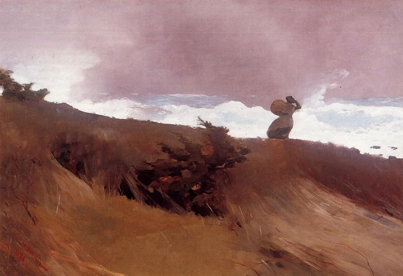The West Wind. Winslow Homer