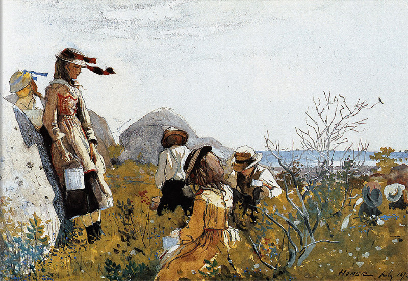 zFox SWD WH 12 The Berry Pickers 1873. Winslow Homer