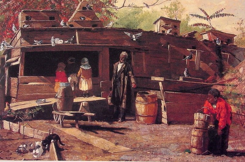 Uncle Ned at Home. Winslow Homer