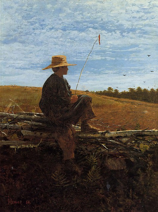 On Guard. Winslow Homer