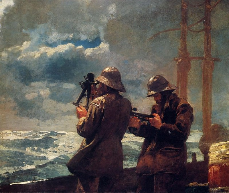 Eight Bells. Winslow Homer