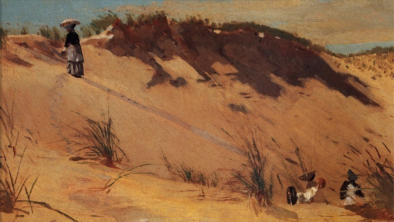 zFox SWD WH 11 The Sand Dune 1872. Winslow Homer