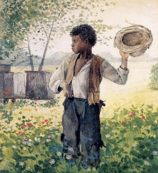 The Busy Bee. Winslow Homer