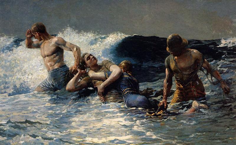 Undertow Winslow Homer 1886. Winslow Homer