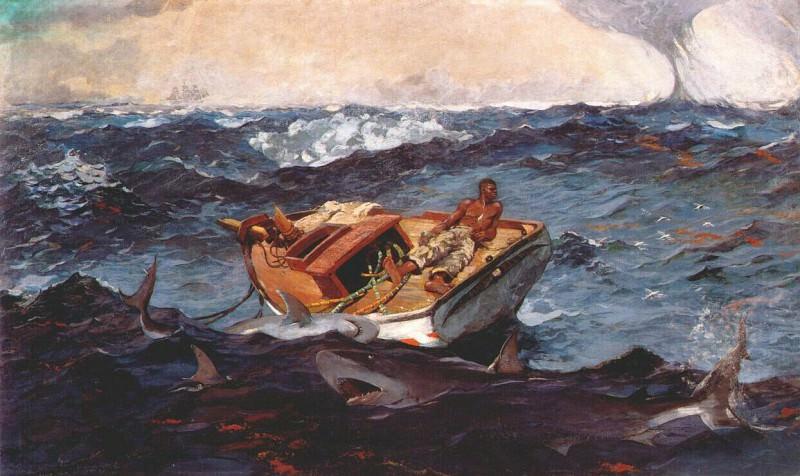 Гольфстрим, 1899. Уинслоу Хомер