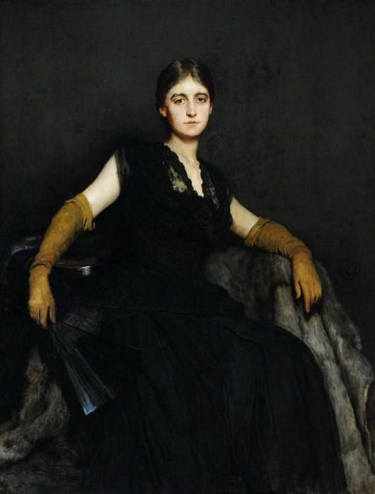 Заворожённая, или леди в чёрном. Хуберт фон Геркомер