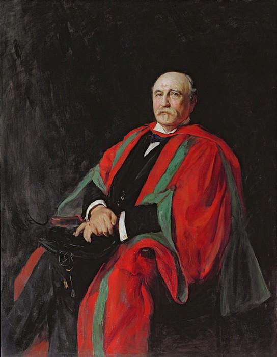 Colonel T.W. Harding. Hubert Von Herkomer
