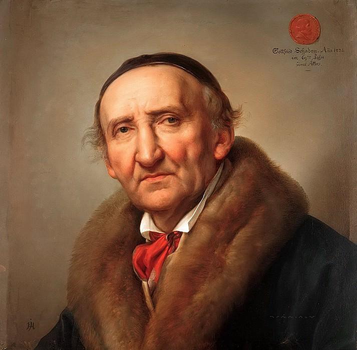 Johann Gottfried Schadow. Julius Hübner