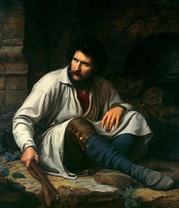 The robber. Theodor Hildebrandt